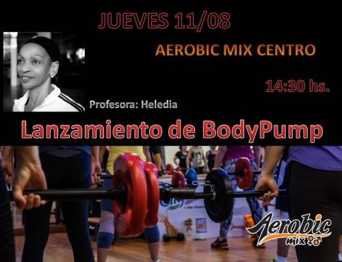 Lanzamiento de Body Pump en Mix Centro