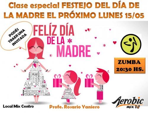 Clases Especiales por Día de la Madre en Mix Centro