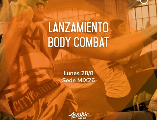 Lanzamiento de Body Combat en Mix 26
