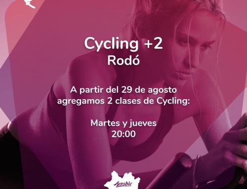 Ciclyng + 2 en Rodó