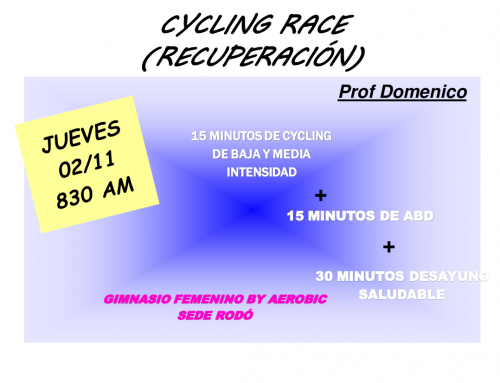 Cycling Race en Rodó