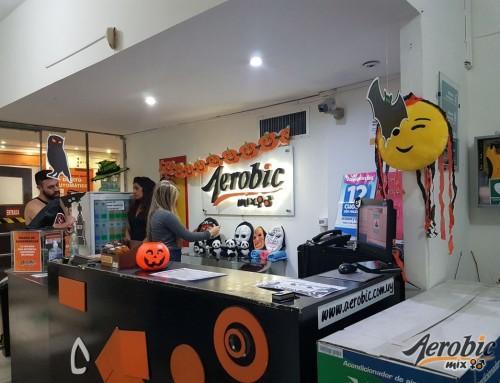 Happy Hallowen les desea Aerobic Cordón