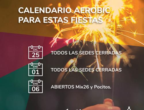 Calendario Aerobic para estas Fiestas