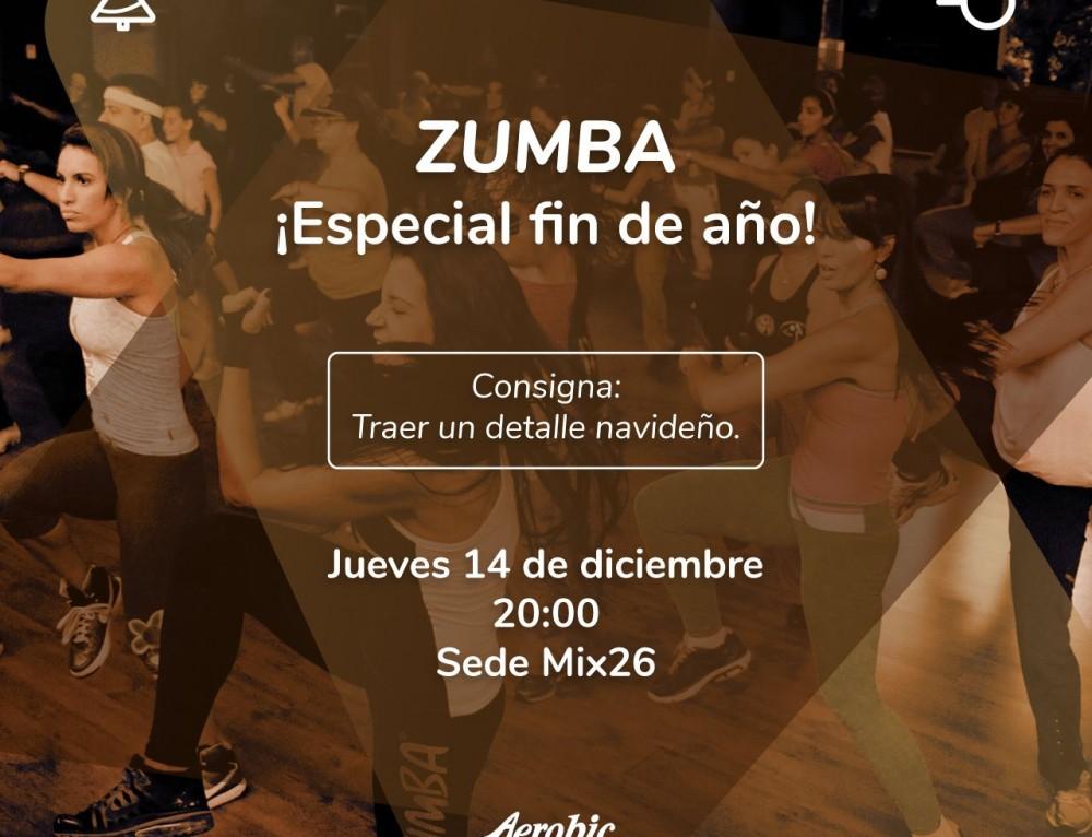 Zumba Especial de Fin de Año en Mix 26
