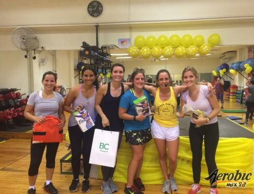 Fotos del relanzamiento de bodyattack 100 en Pereira